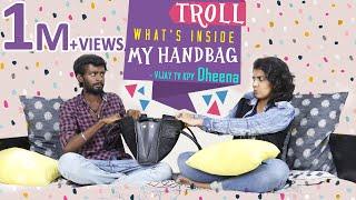 Video KPY Dheena - Vijay Tv gives voice for Bigg Boss 2 Tamil / What's Inside My Handbag Troll Version MP3, 3GP, MP4, WEBM, AVI, FLV Agustus 2018