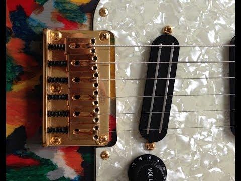 Joe Barden (JBE) S-Deluxe CHUNKY Strat Bridge Pickup Demo (w/ 3 different guitars & 3 small amps)