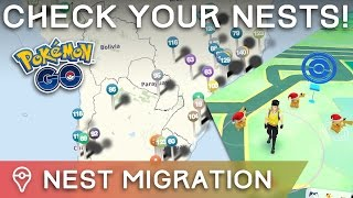 NEST MIGRATION #10 HAS OCCURRED IN POKÉMON GO by Trainer Tips