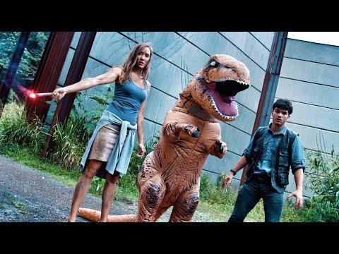 Jurassic Parkour in a Dinosaur Suit