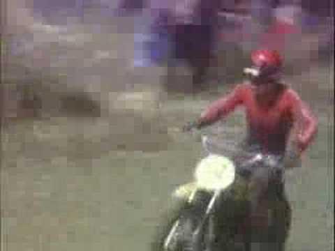 Motocross a Livorno Montenero anni 70
