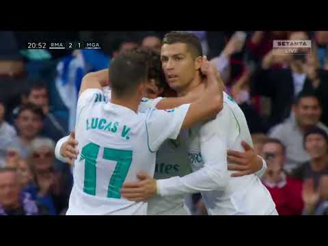 Real Madrid vs Málaga 3-2 Highlights +All Goals 25/11/2017--- HD