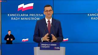 Morawiecki: Ten kto nie żyje, ten nie ma prawa do wolności wyboru.
