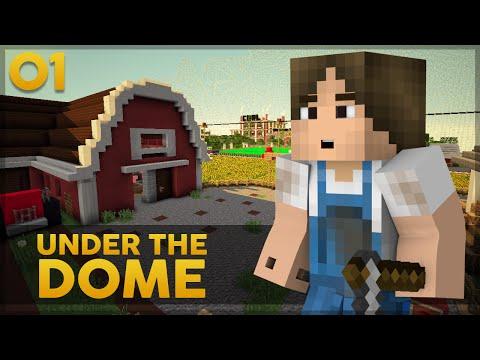 Minecraft Under the Dome #1: NOVA SÉRIE!