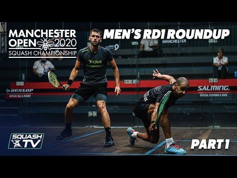 Squash: Manchester Open 2020 - Men's Rd1 Roundup [Pt.1]