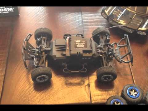 New 1/24 Losi Brushless RTR Micro SCT LOSB0242 with LiPo battery comparison test runs