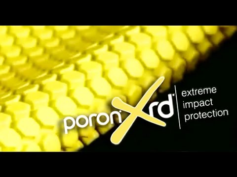 PORON® XRD® Extreme Impact Protection  - Various Tests (Hammer, Glass, Bullet, Bowling Ball etc)