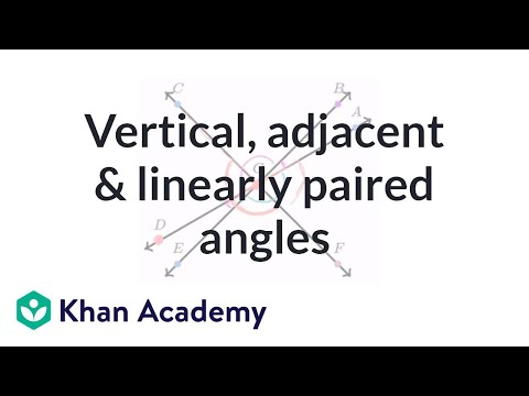 Angle relationships example (video) | Angles | Khan Academy