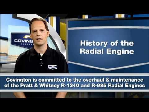 "Pratt and Whitney Radial Engine-""A Modern Marvel"""