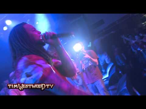 Waka Flocka Flame LIVE In London Kid Gets Thrown Out Then Ends Up On Stage - Westwood