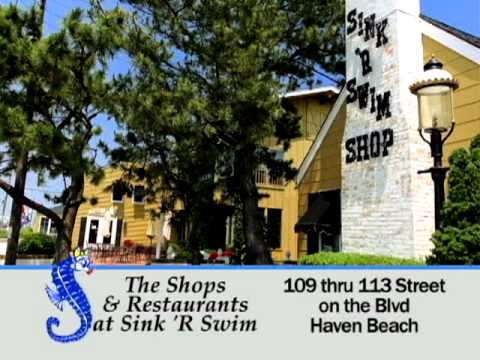 Shops & Restaurants at Sink 'R Swim