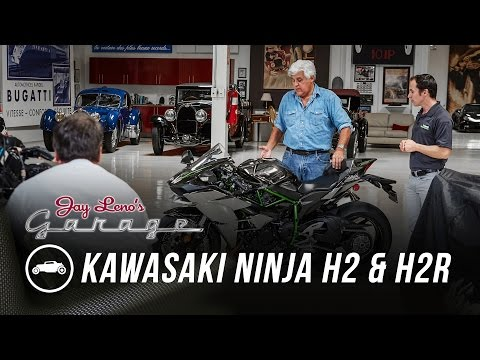 2015 Kawasaki Ninja H2 and H2R – Jay Leno's Garage