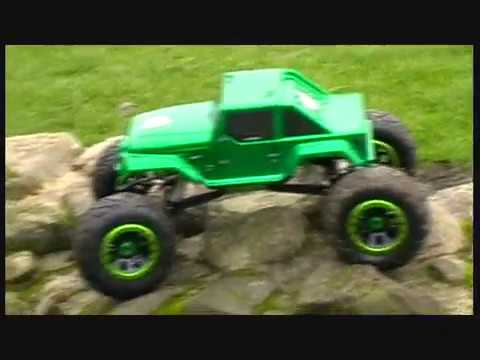 HSP 1:8 Rock Crawler Outdoor Test Run