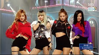 Video BLACKPINK - '휘파람'(WHISTLE) 0814 SBS Inkigayo MP3, 3GP, MP4, WEBM, AVI, FLV Agustus 2018