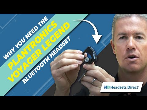 Why You Need The Plantronics Voyager Legend Bluetooth Headset? It's Simply Smarter!