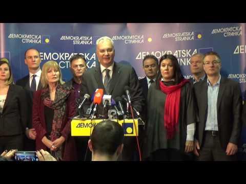Шутановац: Демократе и Саша Јанковић су тим који побеђује