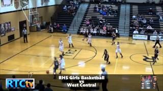 RHS Girls Basketball vs West Central