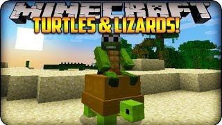 Minecraft Mods - LITTLE LIZARD&TINY TURTLE - Reptile Mod