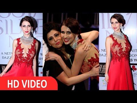 Claudia Ciesla  On Ramp For Archana Kochhar 'Ssja Silver Nite Fashion Show