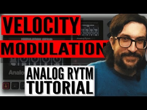 Velocity Programming on Elektron Analog Rytm MkII