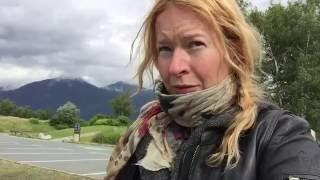 Through Switzerland in a rainy day