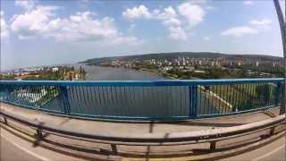 Уникален Бънджи скок от Аспаруховия мост във Варна