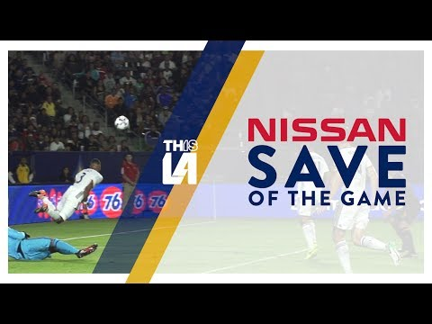 Video: Nissan Save of the Game: Ashley Cole's diving clearance keeps the ball out of the net