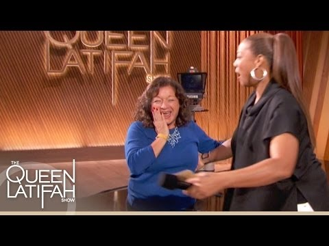 An Audience Member Wins a Trip to Australia at The Queen Latifah Show