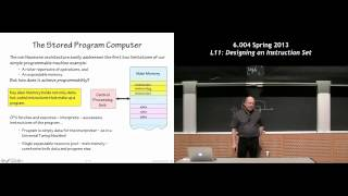 MIT 6.004 L11: Designing An Instruction Set