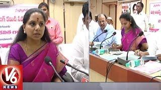 Nizamabad MP Kavitha Criticizes BJP Leader Laxman Comments