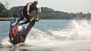 6. Jetski Yamaha Superjet . Old school tricks & fun. Part 4