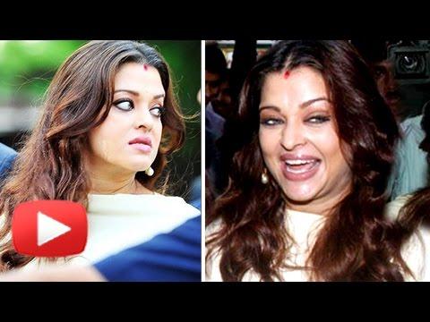 WATCH Aishwarya Rai FUNNY FACE EXPRESSIONS Caught