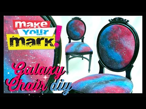 Galaxy Chair and Fabric DIY