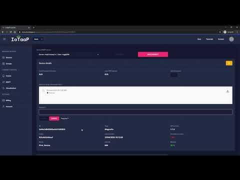 IoTaaP Device OTA Update