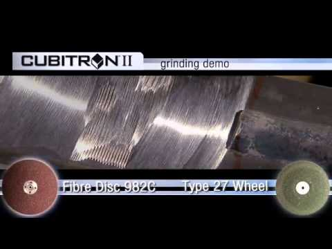 3M™ Cubitron™ II Fibre Disc 982C Grinding Demo