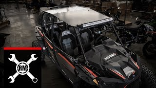 8. Polaris RZR XP 4 1000 | Tusk Force Aluminum Roof Install