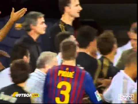 JOSE MOURINHO VS TITO VILANOVA (видео)