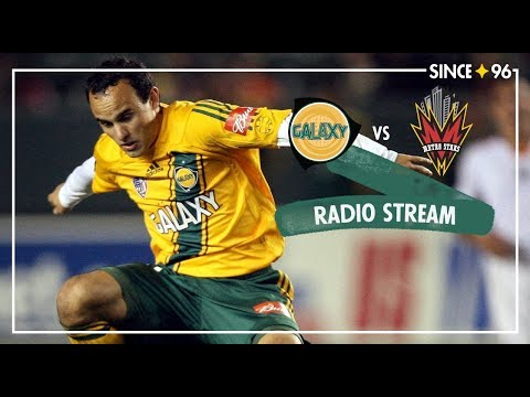 Video: LA Galaxy vs New York Red Bulls | Radio Livestream