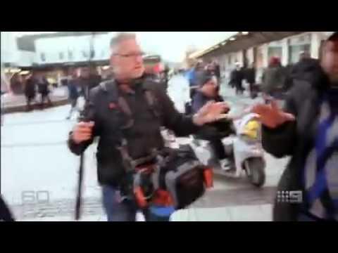 حملهی مسلمانها به خبرنگاران در سوئد