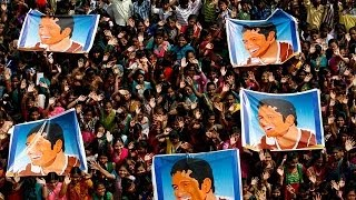 Sachin Tendulkar's final Test match: thousands of Indian cricket fans bid farewell