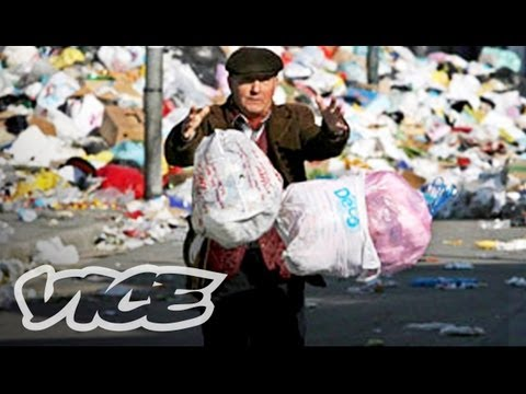 italy - In the city of Naples, Italy, the Mafia has controlled the waste-management industry for decades -- dumping and burning trash across its rolling hills and vi...