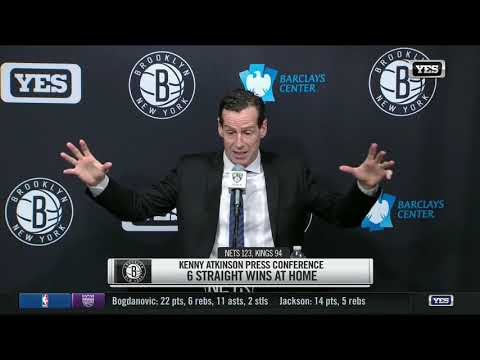 Video: Kenny Atkinson's Nets win fourth straight