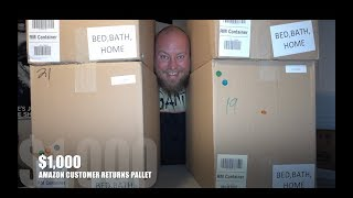 I bought a $1,000 Amazon Customer Returns Pallet / Mystery Boxes
