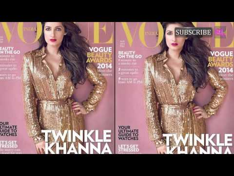 popular - Twinkle Khanna sizzles on the cover of a popular magazine by http://www.bollywoodlife.com Twinkle Khanna truly twinkles on the cover of a popular women's magazine. Not only does the ex-actor...