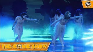 Watch this act, Zombie Ballet, from The Gong Show. Celebrity Judges: Elizabeth Banks Will Forte Fred Arminsen Watch more acts on The Gong Show Thursdays at 1...