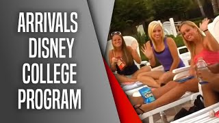 Arrivals - Disney College Program
