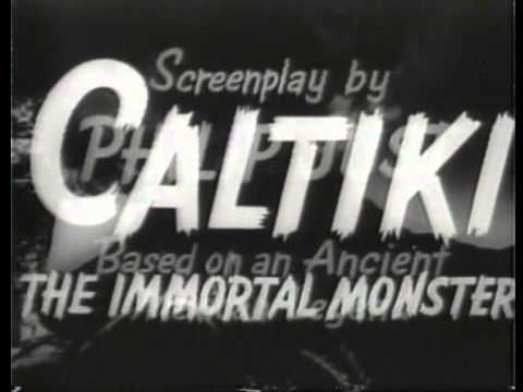 Caltiki - Il Mostro Immortale (Trailer Americano)
