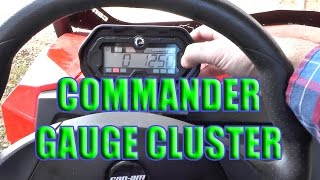 6. Can-Am Commander 800R: Display, Gauge and Instrument Layout