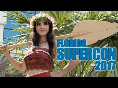 Florida Supercon 2017 - The Cosplay Experience
