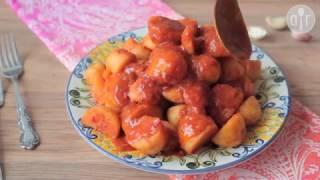 Chtitha batata (Algerische Kartoffeln mit Dersa)